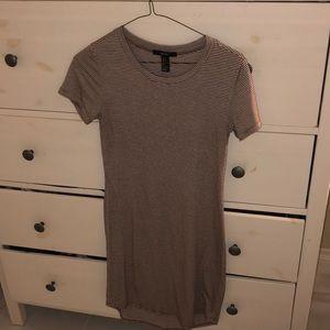 Nude T-shirt Dress